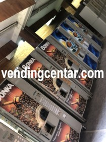 Улични кафе автомати втора употреба Некта Спацио продавам.