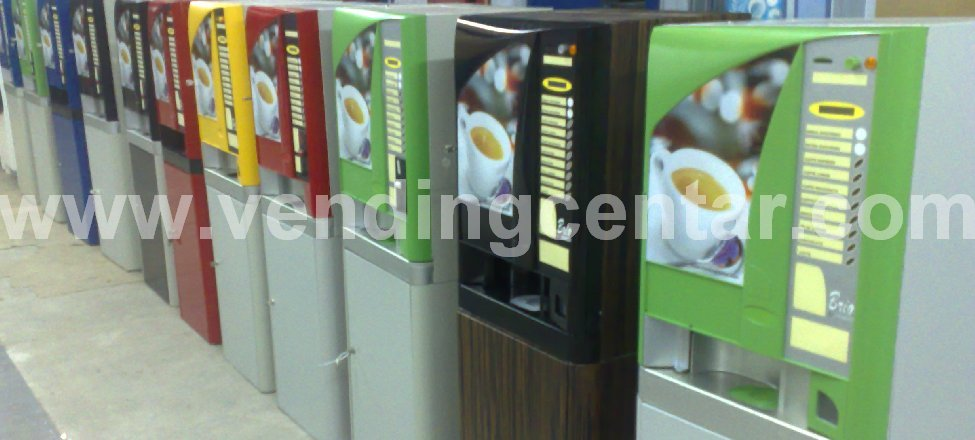 Вендинг автомат, Магазин, Кафе автомати