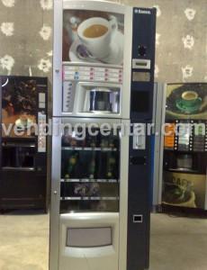 Автомат за кафе Комби Снакс Саеко. Кафе автоматът е втора употреба.