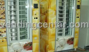 Дамян автомати за закуски продава: сирене, салам, лютеница. Дамиан - Дамиян - Damian - автомати за закуски са втора употреба (втора ръка) от Вендинг Център.