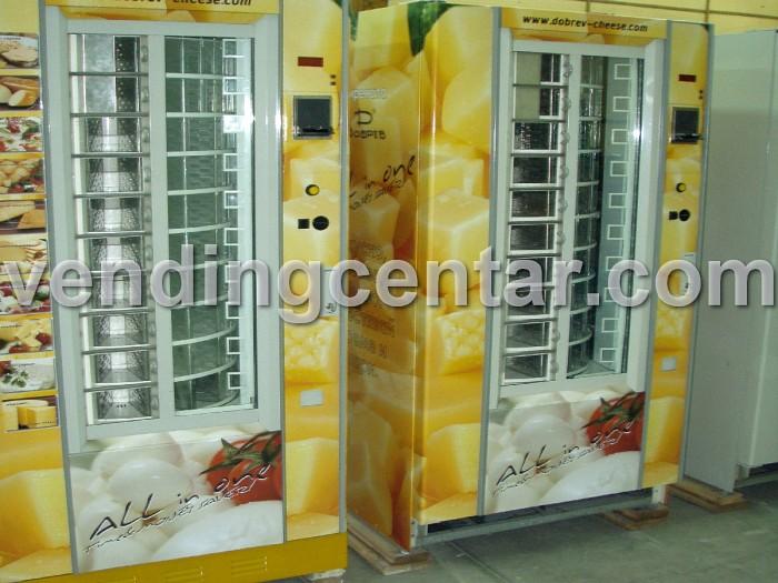 Автомати за закуски Дамян продава: сирене, салам, лютеница. Дамиан - Дамиян - Damian - автомати за закуски са втора употреба (втора ръка) от Вендинг Център.