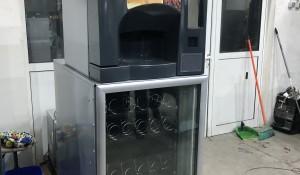 продавам комбиниран автомат за кафе закуски и студени напитки
