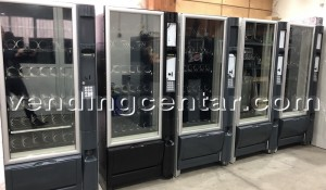 Автоматични апарати за пакетирани закуски. Цена: 2600 лв.