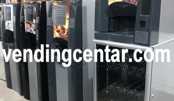 Продавам от вендинг център. Вендинг машини за закуски и кафе автомати. Цена: 3900 лв.