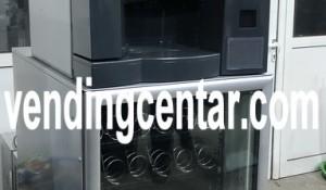 продавам комбиниран автомат за кафе закуски пакетирани стоки и студени напитки