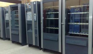 Автомати за закуски и студени напитки.